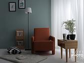 L型大型沙發攝影:強調氛圍的感覺(安心舒適)
