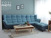 L型大型沙發攝影:L型大型沙發攝影