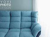 L型大型沙發攝影:特寫攝影