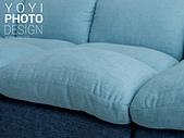 L型大型沙發攝影:特寫攝影拍出柔軟和蓬鬆感
