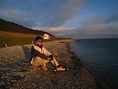 北疆遊--中國新疆〈天山以北〉:賽里木湖畔觀日出.JPG