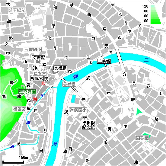 地圖:三峽