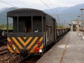 鐵道車輛:石斗列車的 守車 南澳站