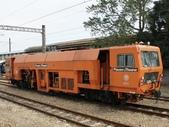 鐵道車輛:奧地利 大型砸道車 801 新營站