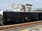 鐵道車輛:蓬車 24000形 九曲堂站