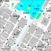 地圖:黃色小鴨在基隆港位置
