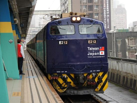 鐵路印象:E212 510次 汐止站