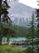 2006加拿大洛磯山脈:278 - 悠鶴國家公園-翡翠湖 Emerald Lake (17)