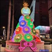 20191128台中新光三越中港店聖誕燈飾:萬花筒62屋馬中港店.jpg