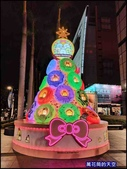 20191128台中新光三越中港店聖誕燈飾:萬花筒51屋馬中港店.jpg