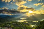 1031101-新北市。石碇千島湖。雲隙光:夢幻雲隙光