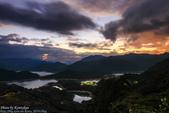 1031101-新北市。石碇千島湖。雲隙光: