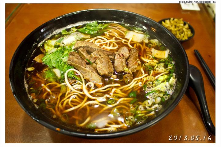 [台中南區] 悅來牛肉麵 | 巨無霸牛肉麵