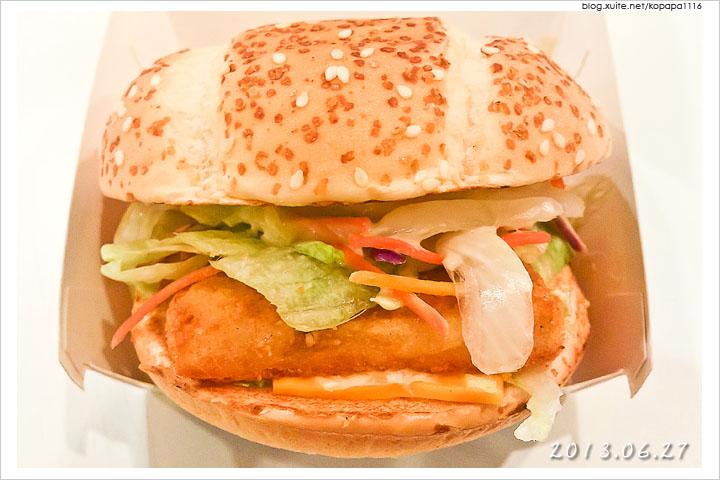 [麥當勞] 青芥末鱈魚堡