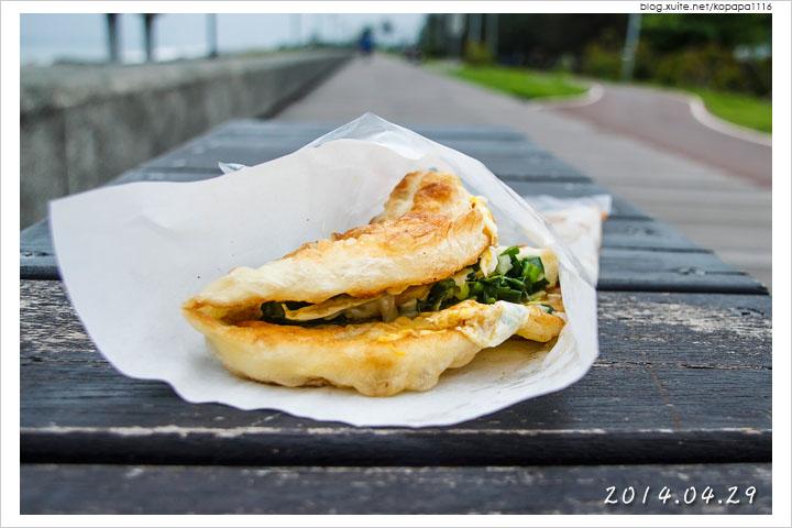 [台東美食] 黃記蔥油餅(黃記手作海邊蔥油餅)