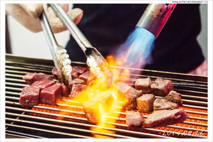 [花蓮東大門夜市] 炙焰牛(炙燒火焰骰子牛)〈試吃邀約〉