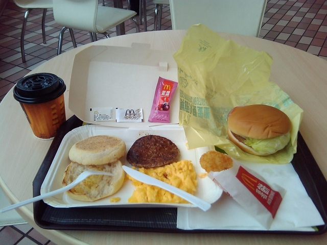 [麥當勞] 鮮蔬火腿蛋堡