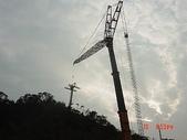 貓空纜車:吊車吊裝