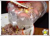 鳳梨櫻花蝦飯團:鳳梨櫻花蝦飯團