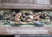 日光東照宮,二荒山神社,輪王寺大猷院:東照宮三猿彫刻IMG_2917.JPG