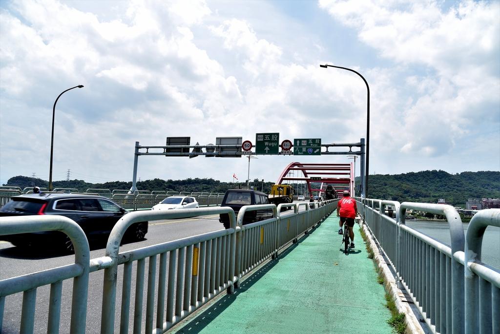 DSC_3412.JPG - 基隆河右岸自行車道,八里左岸自行車道