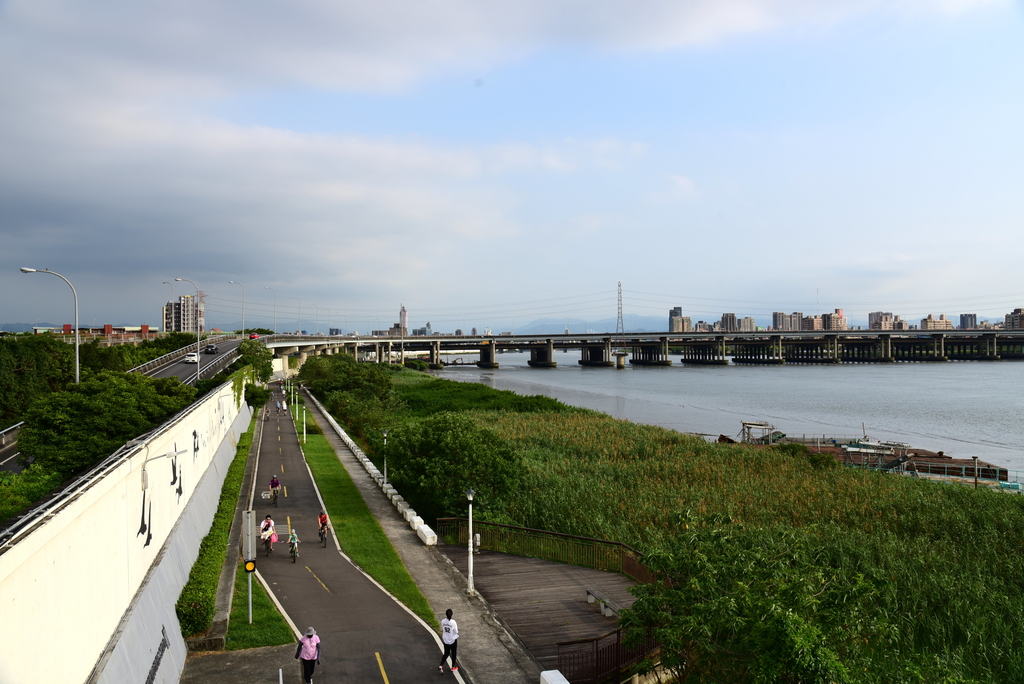 DSC_3782.JPG - 淡水河,新店溪右岸自行車道