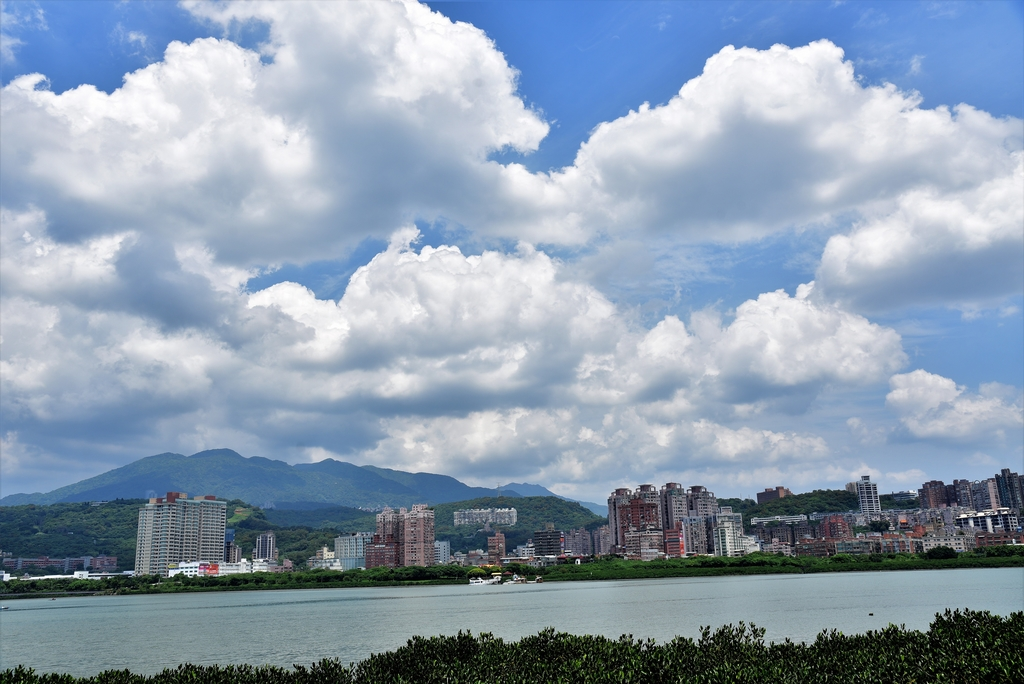 DSC_3433.JPG - 基隆河右岸自行車道,八里左岸自行車道