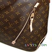 LV2010年新款包包:【LV超3A】Louis Vuitton 2010秋冬M40354 Delightful Monogram GM 單肩帶拉鍊暗袋肩背包(大)(可放A4) (2).jpg