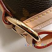LV2010年新款包包:【LV超3A】Louis Vuitton 2010秋冬M40354 Delightful Monogram GM 單肩帶拉鍊暗袋肩背包(大)(可放A4) (6).jpg