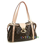 LV2010年新款包包:LV M51186 經典印花 Stresa 肩背包(小) (1).jpg