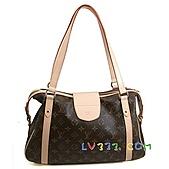 LV2010年新款包包:LV M51186 經典印花 Stresa 肩背包(小) (2).jpg