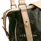 LV2010年新款包包:LV M51186 經典印花 Stresa 肩背包(小) (4).jpg