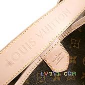 LV2010年新款包包:【LV超3A】Louis Vuitton 2010秋冬M40354 Delightful Monogram GM 單肩帶拉鍊暗袋肩背包(大)(可放A4) (10).jpg