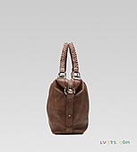 GUCCI新款包:【LV超3A】GUCCI bamboo bar 大號購物袋,配以竹節 全咖啡皮 232927 A2O1N 2703 (2).jpg