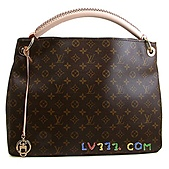 LV2010年新款包包:LV 2010春夏 M40249 Monogram Artsy 優雅肩背包(中) (1).jpg