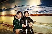 2011 南北極地博覽會:剛進去母女倆都相當興奮。