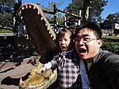 2010 六福村:阿~阿~阿~來比一比誰的嘴巴比較大~~~