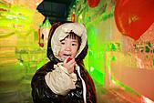 2011 南北極地博覽會:這好像草莓冰喔~~