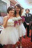 巧珍結婚101.11.11--第二次當伴娘:謝謝巧珍大嫂特製的滿天星伴娘捧花