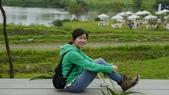 宜蘭綠博 107.4.7/14:喜歡這雙登山鞋