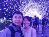 新北耶誕城 107.11.30:紫色星空步道