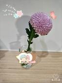 咖啡.茶.酒展 107.11.17:可愛的淡紫乒乓菊