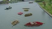 宜蘭綠博 107.4.7/14:河上的裝置藝術