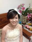 巧珍結婚101.11.11--第二次當伴娘:完成--謝謝新秘的巧手