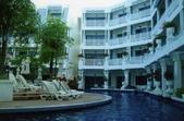 普吉島畢業旅行(93.6.30~7.4):從餐廳看出去的飯店