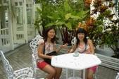 普吉島畢業旅行(93.6.30~7.4):房間外的庭園