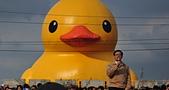 新屋地景藝術節-黃色小鴨:這樣的正面 能看嗎?