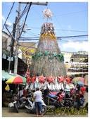 卡邦市場:7慶典架設的稻草燈塔 (複製).JPG
