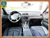 06年 BENZ W211 E280 3.0銀 黑內裝 阿曼加 跑車版 新型七速 全景天窗 烏眼楓木:4.jpg