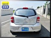 12年 日產 NEW March K13 1.5銀色 雙安 ABS 15吋鋁圈 省油省稅靈活都會小車:11.jpg